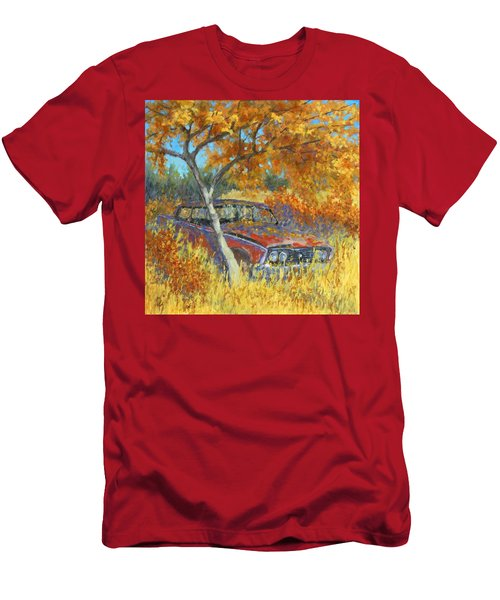 Under The Chinese Elm Tree Men's T-Shirt (Athletic Fit)