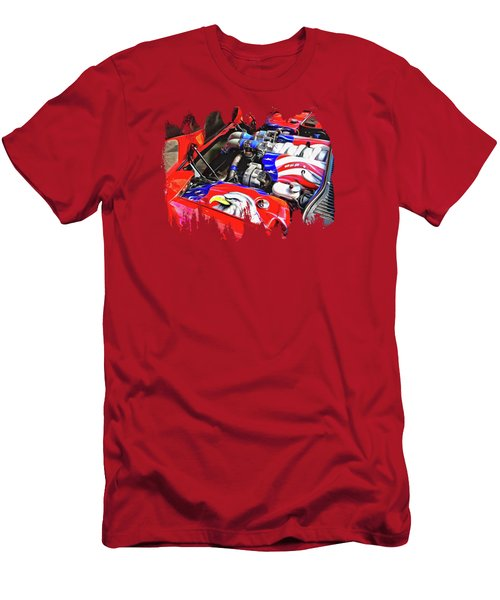 Under The Hood Men's T-Shirt (Athletic Fit)