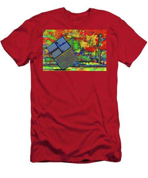 University Of Michigan Men's T-Shirt (Athletic Fit)