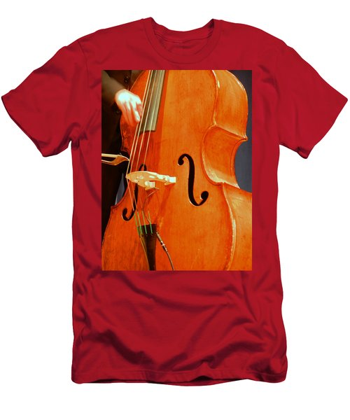 Upright Bass 3 Men's T-Shirt (Athletic Fit)