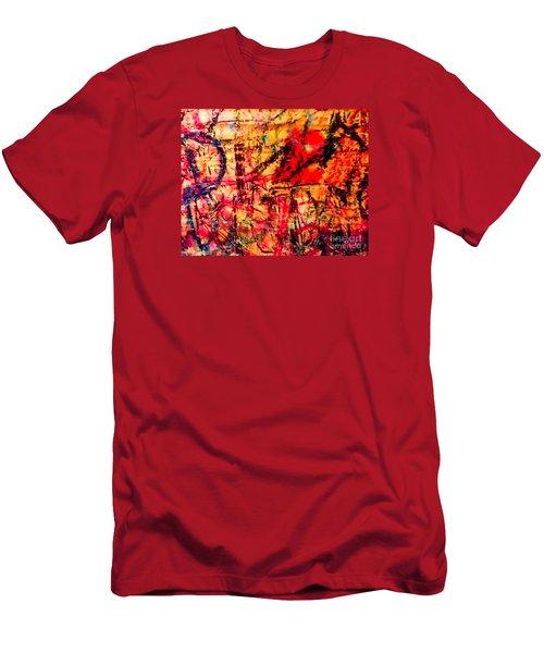 Urban Grunge One Men's T-Shirt (Slim Fit) by Ken Frischkorn