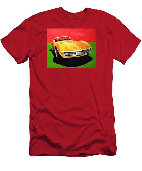 Usmc Stingray Men's T-Shirt (Athletic Fit)