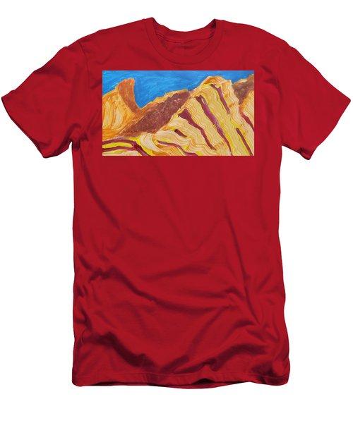 Utah  Canyons Men's T-Shirt (Slim Fit) by Don Koester