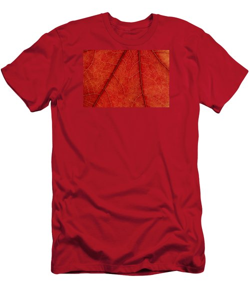 Men's T-Shirt (Slim Fit) featuring the photograph Vains by Chevy Fleet
