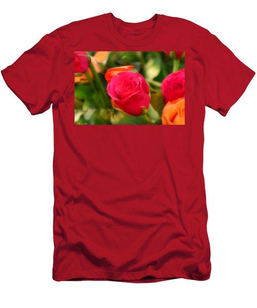 Valentines Day Men's T-Shirt (Slim Fit) by Bernd Hau