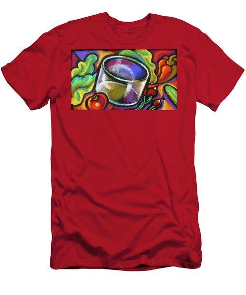 Vegetarian Food Men's T-Shirt (Athletic Fit)