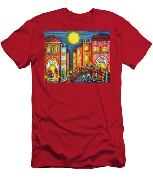 Venice Soiree Men's T-Shirt (Athletic Fit)
