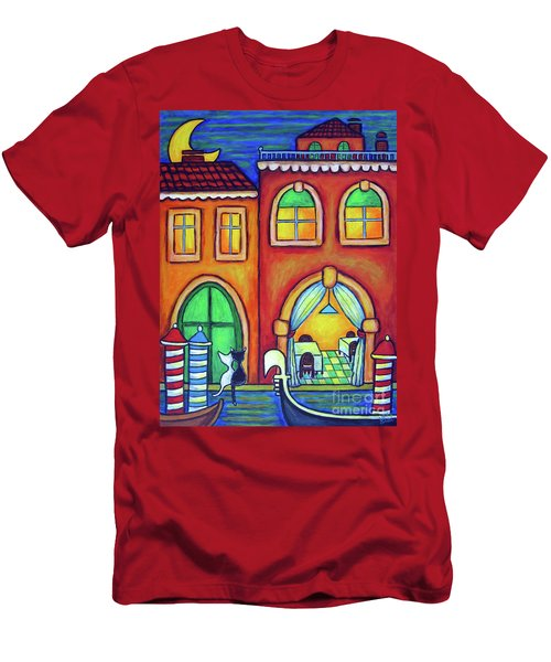 Venice Valentine II Men's T-Shirt (Athletic Fit)