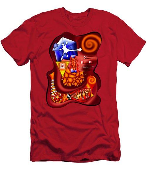 Versophomus V3 - New World Men's T-Shirt (Slim Fit) by Cersatti