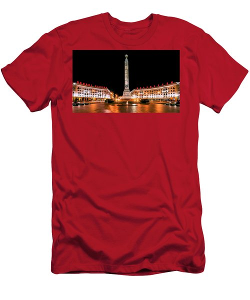 victory Square Men's T-Shirt (Athletic Fit)