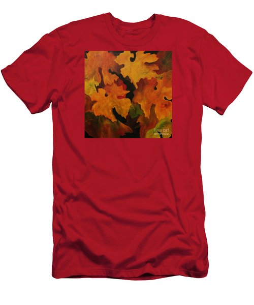 Vine Leaves Men's T-Shirt (Athletic Fit)