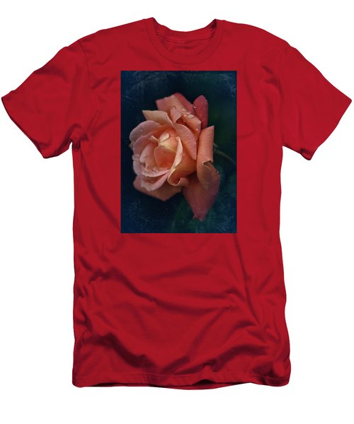Vintage Rose Oil Men's T-Shirt (Athletic Fit)