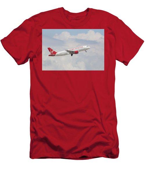 Virgin America Men's T-Shirt (Athletic Fit)