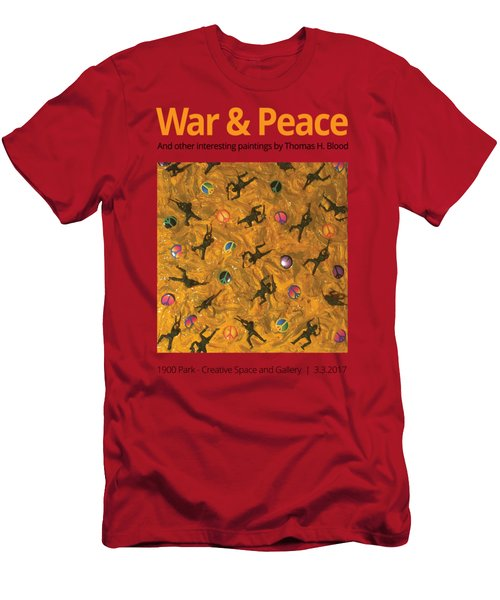 War And Peace T-shirt Men's T-Shirt (Athletic Fit)