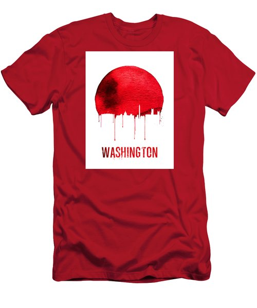 Washington Skyline Red Men's T-Shirt (Athletic Fit)