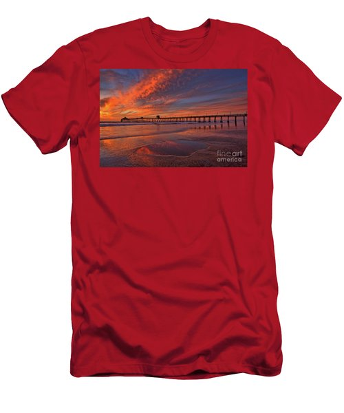 Watch More Sunsets Than Netflix Men's T-Shirt (Athletic Fit)