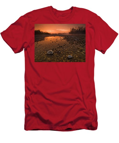 Water On Mars Men's T-Shirt (Athletic Fit)