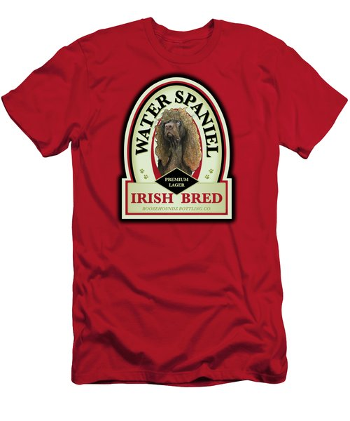 Water Spaniel Irish Bred Premium Lager Men's T-Shirt (Athletic Fit)