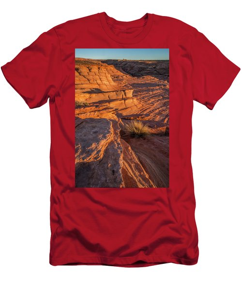Waterhole Canyon Sunset Vista Men's T-Shirt (Athletic Fit)