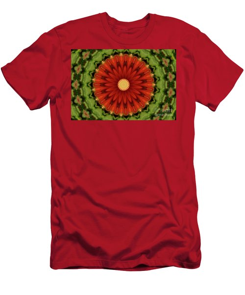 Watermelon Delight Men's T-Shirt (Slim Fit) by Sheila Ping