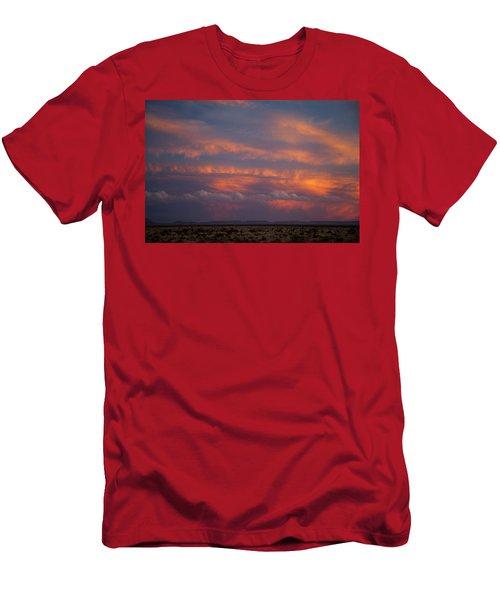 West Texas Sunset #1 Men's T-Shirt (Athletic Fit)