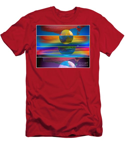 Where The Land Ends Men's T-Shirt (Athletic Fit)