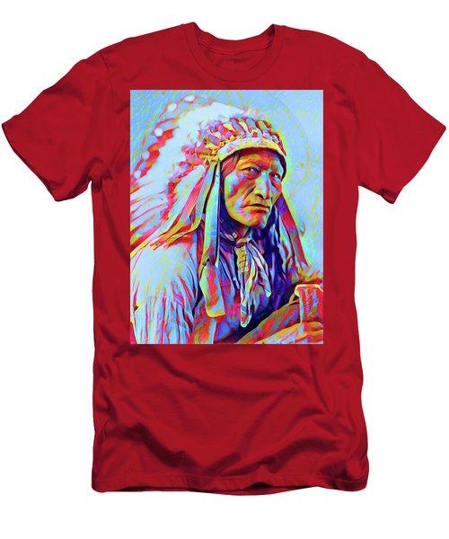 White Cloud Men's T-Shirt (Slim Fit) by Gary Grayson