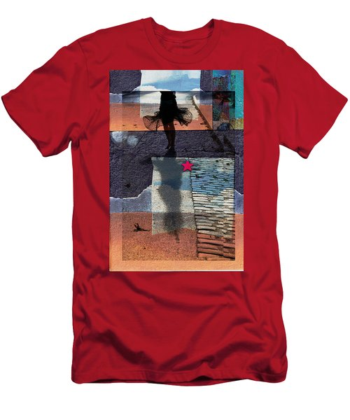 Who Doesn't Stop Till Dawn Men's T-Shirt (Slim Fit) by Danica Radman