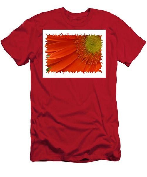 Men's T-Shirt (Slim Fit) featuring the photograph Wild Daisy by Shari Jardina