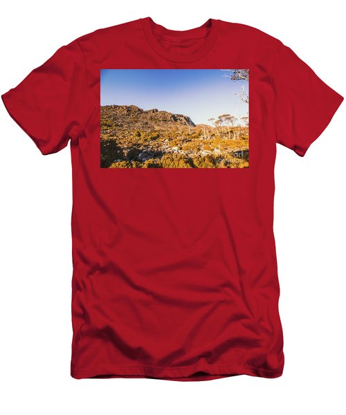 Wild Wilderness Of Stone Geology Men's T-Shirt (Athletic Fit)