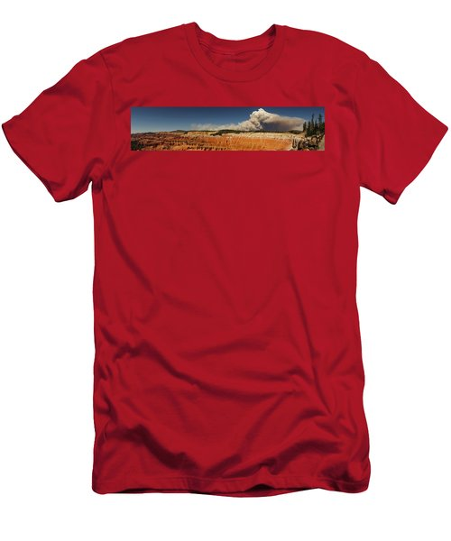 Wildfire Cedar Breaks National Monument Utah Men's T-Shirt (Athletic Fit)