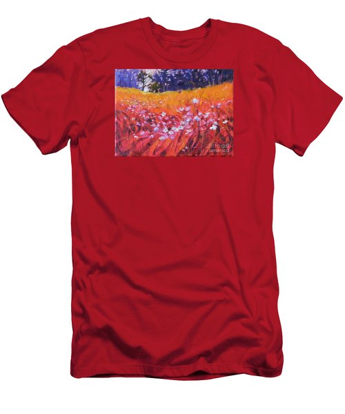 Wildflower I Men's T-Shirt (Athletic Fit)