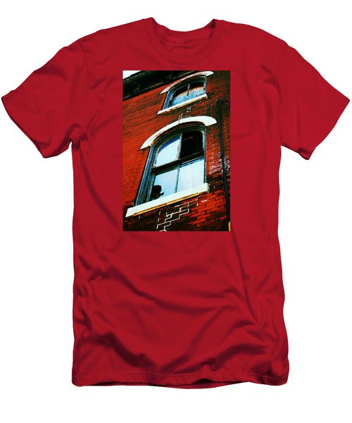 Windows Men's T-Shirt (Slim Fit) by Christopher Woods