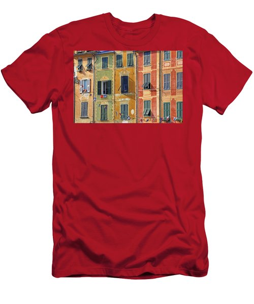 Windows Of Portofino Men's T-Shirt (Athletic Fit)