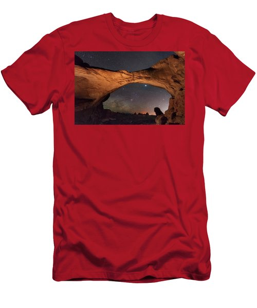 Windows To Heaven Men's T-Shirt (Athletic Fit)