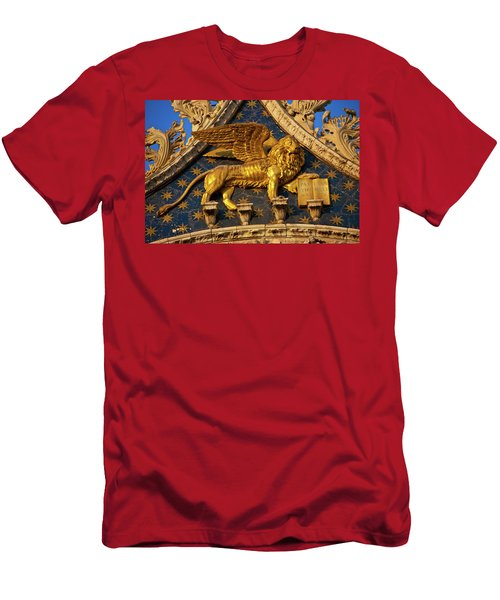 Winged Lion Men's T-Shirt (Athletic Fit)