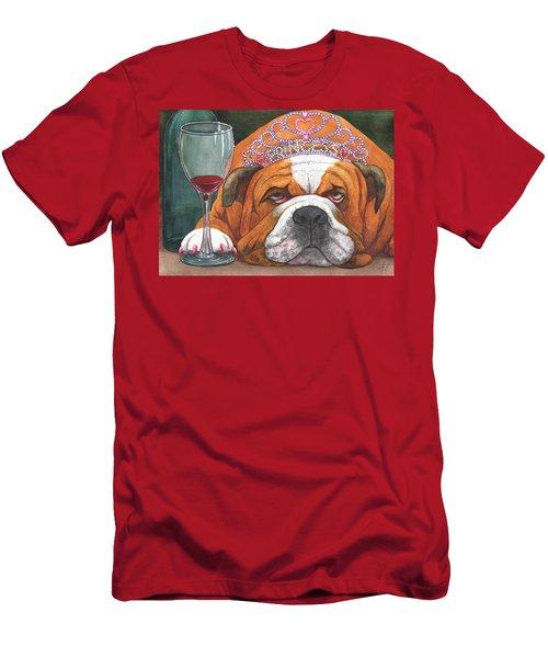 Wining Princess Men's T-Shirt (Athletic Fit)