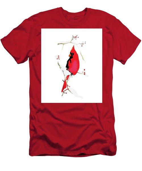 Winter Messenger Men's T-Shirt (Athletic Fit)