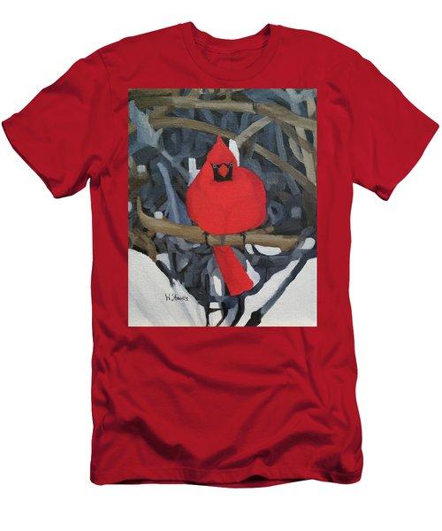 Winters Refuge Men's T-Shirt (Athletic Fit)