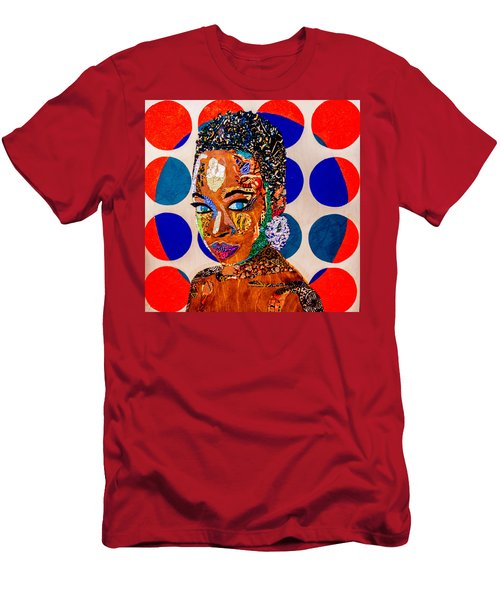 Without Question - Danai Gurira I Men's T-Shirt (Athletic Fit)