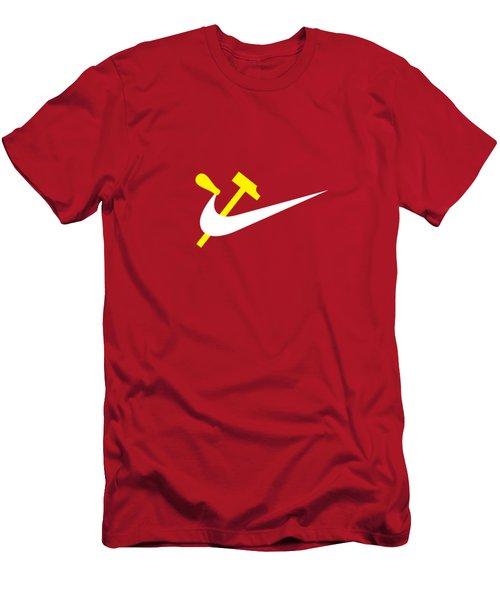 Work And Consume  Men's T-Shirt (Athletic Fit)
