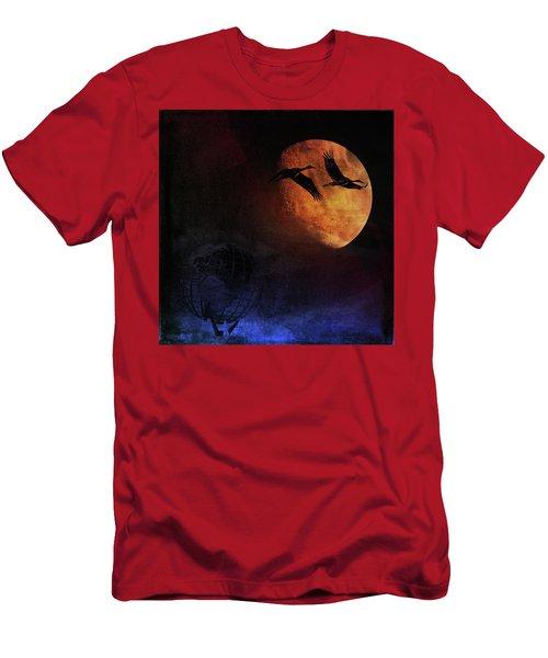World's Fair Birds Men's T-Shirt (Slim Fit)