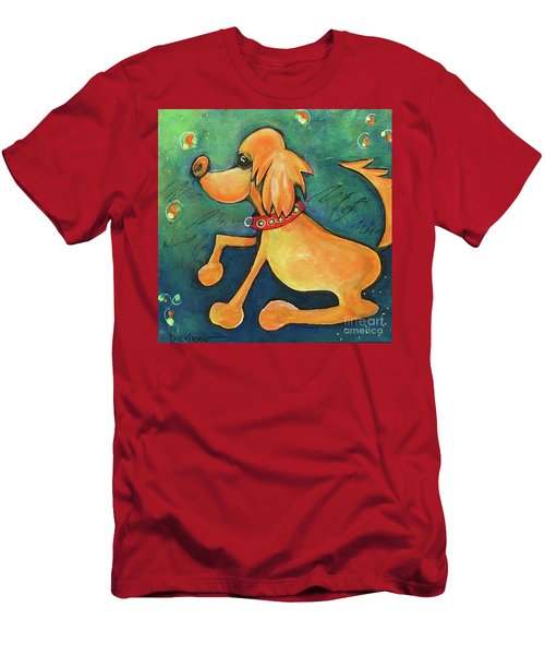 Yellow Dog Men's T-Shirt (Athletic Fit)
