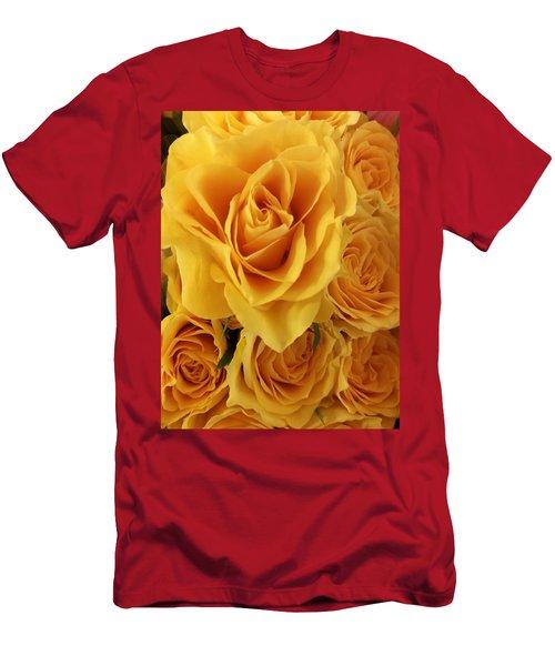 Yellow Joy Men's T-Shirt (Athletic Fit)