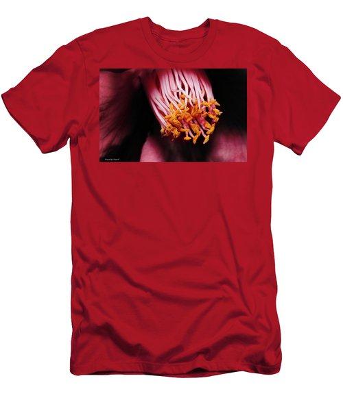 Yellow Pollen 01 Men's T-Shirt (Athletic Fit)