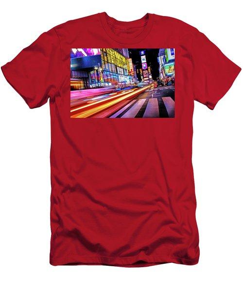 Men's T-Shirt (Slim Fit) featuring the photograph Zip by Az Jackson