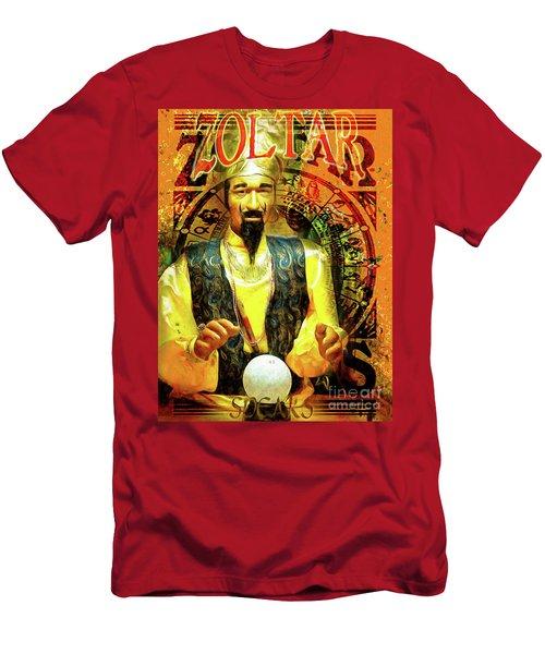 Zoltar Speaks Fortune Teller 20161108v3 Men's T-Shirt (Athletic Fit)