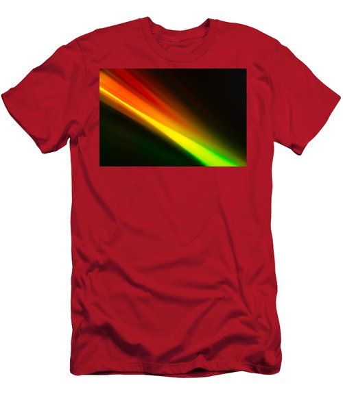 Men's T-Shirt (Athletic Fit) featuring the photograph Zooming by Greg Collins