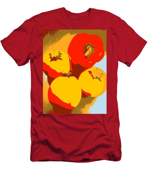 Zucchini And Bell Pepper Men's T-Shirt (Athletic Fit)
