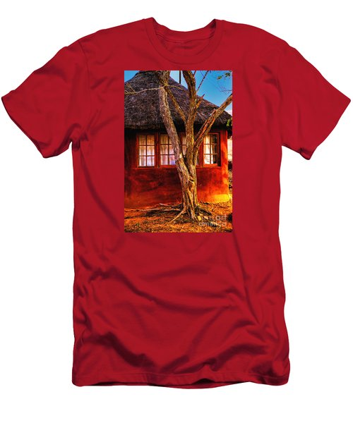 Zulu Hut Men's T-Shirt (Athletic Fit)